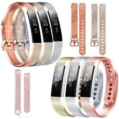 $ CDN6.73 • Buy Replacement Silicone Wrist Band Sport Strap For Fitbit Alta/ Fitbit Alta HR