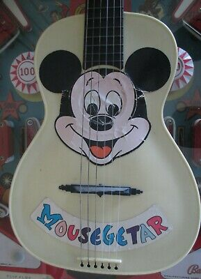 $100 • Buy  MOUSEGEETAR By Disney 50's  Most Rare Version Mickey Mouse Maccaferri Guitar !