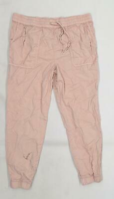 £8 • Buy New Look Maternity Womens Pink  Denim Cargo Trousers Size 10 L28 In