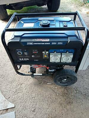 AU1500 • Buy Generator 6.8kva ITM.   3 Phase And New Cable.