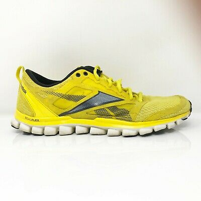 £33.53 • Buy Reebok Mens Realflex Speed J90582 Yellow Running Shoes Lace Up Low Top Size 9
