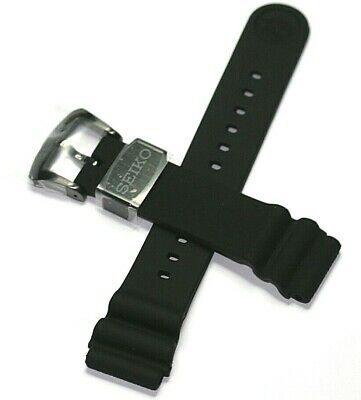 $ CDN106.39 • Buy Seiko Prospex Diver Black Series Darth Turtle Watch Band 22mm Srpc49 And Others