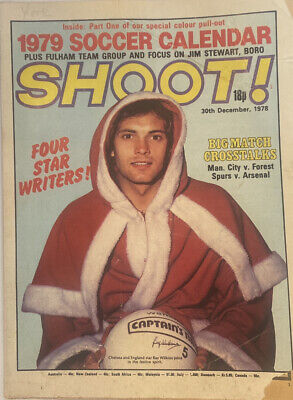 £2.49 • Buy Shoot Magazine 30th December 1978 Fulham Team Poster - Ray Wilkins