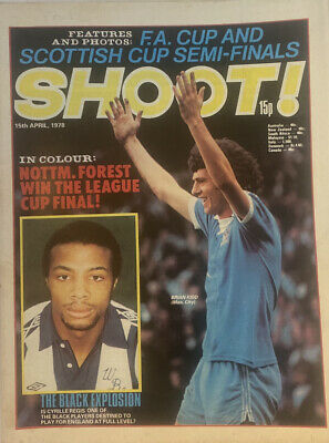£2.49 • Buy Shoot Magazine 15th April 1978 - Chelsea Team Poster - Notts Forest League Cup
