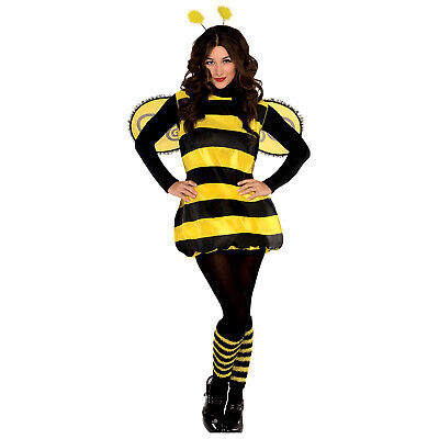 £13.99 • Buy Childs Teens Darling Bumble Bee Costume Insect Book Day Fancy Dress Girls Outfit