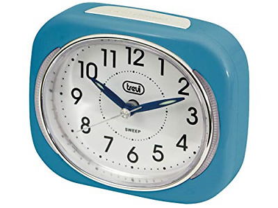 £12.61 • Buy Trevi Retro Bedside/Travel Alarm Clock With LED Backlight And Silent Sweep Hand,