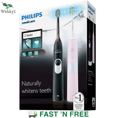 AU122.89 • Buy Philips Sonicare 2 Series HX6232/20 Whitening Electric Rechargeable Toothbrush