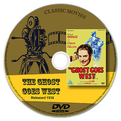 £2.75 • Buy The Ghost Goes West 1936 Classic DVD Film - Comedy, Fantasy, Horror