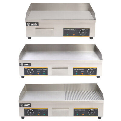 £219.95 • Buy 73cm Electric Griddle Commercial Flat Kitchen Hotplate BBQ Grill Stainless Steel