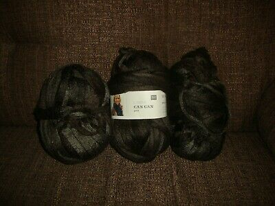 New 4  Rico Design Can Can Print 4 X 200g Brown  Yarn For  Scarf • 10.50£