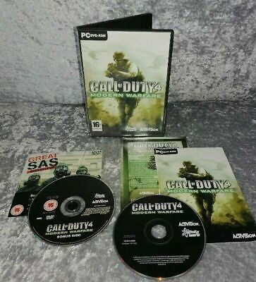 £8.99 • Buy  Call Of Duty4 Limited Collectors Edition PC DVD (no Cardboard Outer)