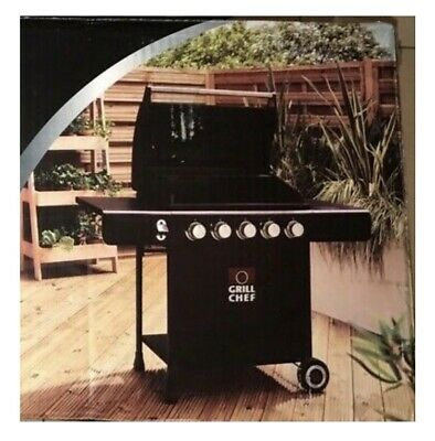 £295 • Buy LandMann Grill🔥Chef 5 Burner Gas BBQ With Cover