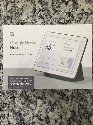 AU82.41 • Buy Google Nest Hub Smart Display With Google Assistant - Charcoal