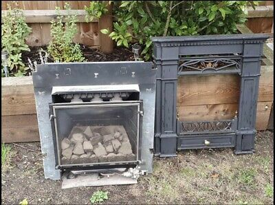 £220 • Buy Solid Cast Victorian Style Gas Fire