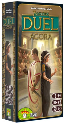 AU43.54 • Buy 7 Wonders Duel Agora Board Game EXPANSION | Board Game For 2 Players | Strategy