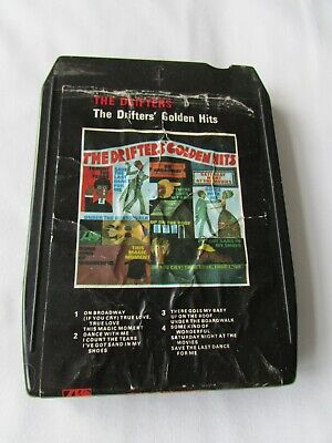 AU7.03 • Buy 8 Track Cartridge. The  Drifters  Golden  Hits