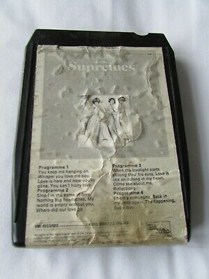 AU7.03 • Buy 8 Track. Cartridge.  Diana Ross And The Supremes.