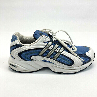 AU38.62 • Buy Women's Adidas AdiPRENE Running Shoes 8.5 White Blue Gray Excellent Condition