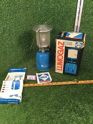 Camping Gaz Lumogaz C 200 S Gas Lamp Light In Original Box With Instructions • 19.99£