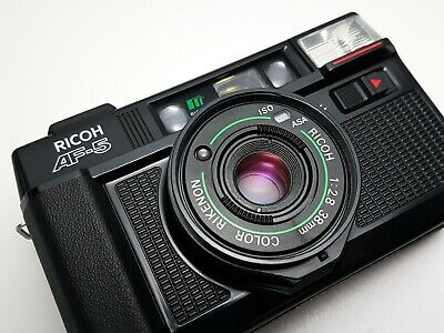 £219.99 • Buy ++ NEW LIGHT SEALS ++ Ricoh AF-5 35mm Compact Point & Shoot Film Camera F2.8