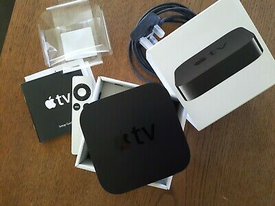 AU7.51 • Buy Apple TV (3rd Generation) HD Media Streamer A1427 With Remote, Instructions, Box
