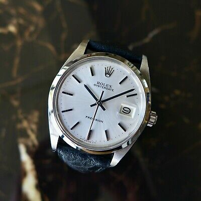 $ CDN4685.81 • Buy A Stunning Gents Vintage 1966 Rolex Oyster Date Precision In Stainless Steel