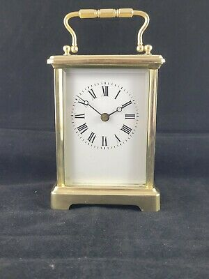 AU177.67 • Buy Antique 8-Day Carriage Clock Recent Service Very Good Condition.