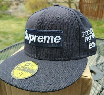 $ CDN428.01 • Buy Supreme World Famous Navy New Era (Authentic Supreme Hat Designed By Lord Fubu)