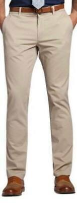 £11.95 • Buy Mens Chino Trousers Slim Fit Stretch Pants & Casual Trousers Size 30-40