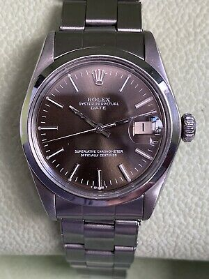 AU3010.99 • Buy Vintage Rolex Oyster Perpetual Date Ref 1501 Automatic-1570 35MM Men's Watch