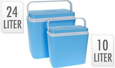 £19.99 • Buy Large 24L/10L Insulated Freezer Portable Cool Box Beer Picnics Festivals Beach