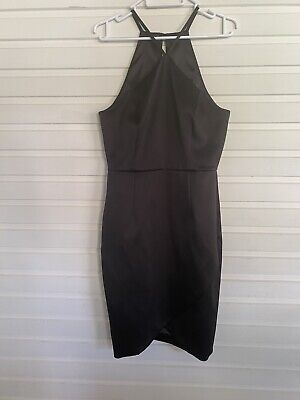 AU32.50 • Buy FOREVER NEW Black  MIDI DRESS Wedding Party Cocktail Size 10