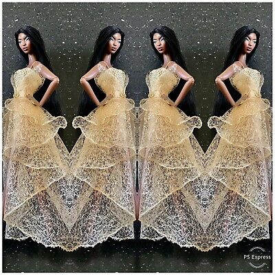 Gold Collection OOAK Dress For  Fashion Royalty • 20£