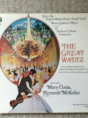 £3 • Buy The Great Waltz Soundtrack Vinyl Lp - Mary Costa - Strauss - Roland Shaw - Mgm