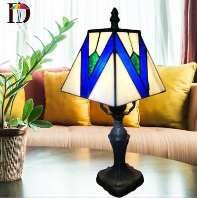 £35.83 • Buy Stained Glass Tiffany Style Table Desk Bedside Home Decor Lamps Lamp Light UK