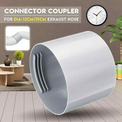 AU15.58 • Buy Interface Pipe Connector Air Conditioner Exhaust Hose Portable Practical