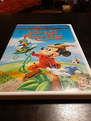£10.16 • Buy Fun And Fancy Free DVD Movie 2000 Gold Collection Edition Disney Mickey Mouse