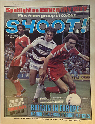 £2.49 • Buy Shoot Magazine 21st October 1978 - Coventry City-Britain In Europe- Alan Kennedy