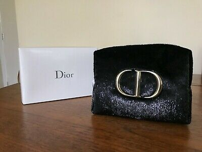 £15 • Buy NEW Dior Luxury Makeup Cosmetics Pouch Travel Bag Black