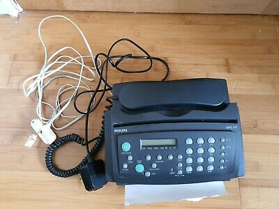 £22 • Buy Vintage Philips HFC171 Fax And Telephone Machine