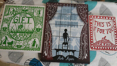 £25 • Buy Rob Ryan Bundle Of 3. This Is For You. The Gift. The Invisible Kingdom