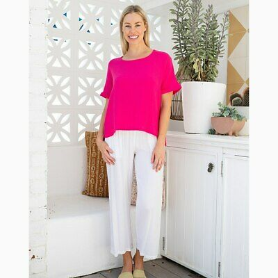 AU49.95 • Buy Sunset Top In Hot Pink By Freez Clothing*