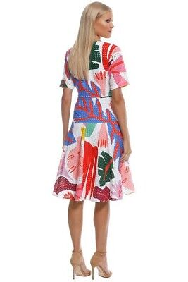 AU67 • Buy Gorman Frondly Face Dress, Size 14 Pre Owned