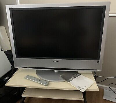 "AU30 • Buy Sony 32""  Bravia LCD Original Series Early 2000s With Stand"