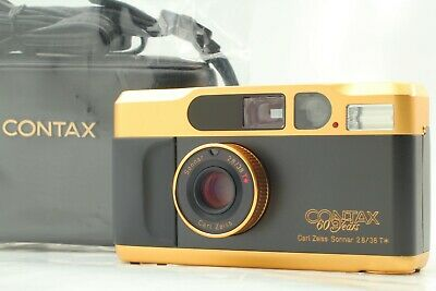 $ CDN1819.71 • Buy [CLA'd TOP MINT SN U0005] CONTAX T2 60 Years 60th Gold Limited From JAPAN