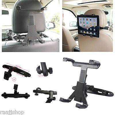 £6.98 • Buy Universal In Car Back Seat Headrest Holder Mount Cradle For Ipad 1 2 3  Mini Air