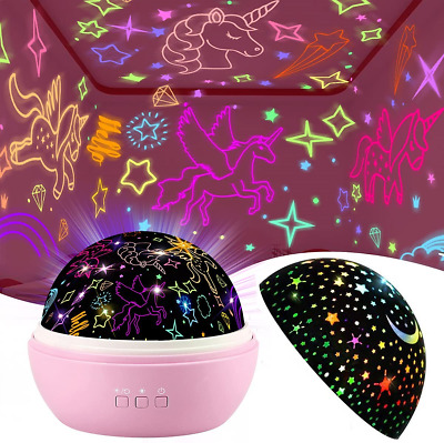 £24.50 • Buy Unicorn Toys For 1-9 Year Old Girls,Star Projector Cute Kids Toys For 3-8 Year 2