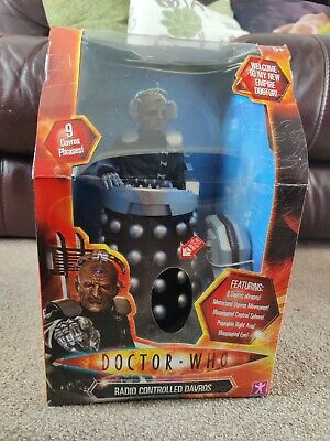 £95 • Buy Doctor Who Radio Controlled Davros 12  Action Figure BNIB SEALED