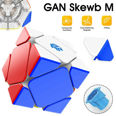 $ CDN53.43 • Buy Magnetic Speed Cube Core Positioning Gans Skweb Puzzle Cube Magic Cube Kids Toy
