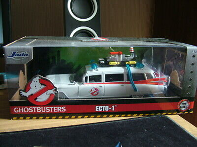 Jada Toys Hollywood Rides 1:24 Ghostbusters ECTO-1 Multi-Colored Car, One Size - • 35£